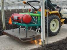 Flame greenhouse désherbage écologique par les flammes